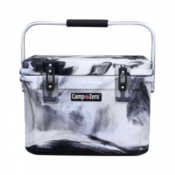 Camp-Zero 20 Premium Cooler | Black And White Swirl