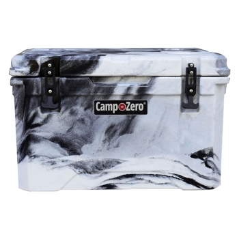 Camp-Zero 40 Premium Cooler Black | White Swirl