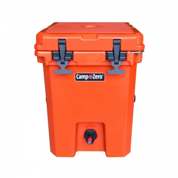 Camp-Zero 20 Premium Drink Cooler | Bright Orange