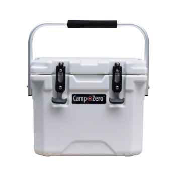 Camp-Zero 10 Premium Cooler | White