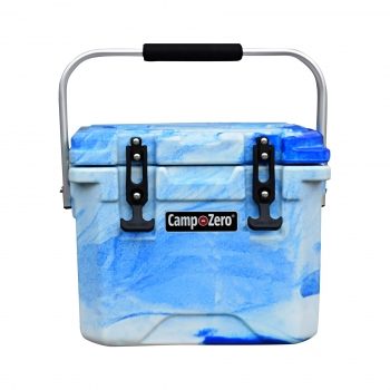 Camp-Zero 10 Premium Cooler | Blue Swirl