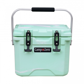 Camp-Zero 10 Premium Cooler | Green Swirl