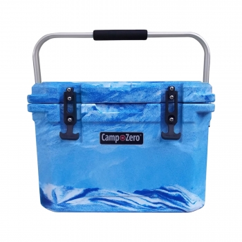 Camp-Zero 20 Premium Cooler | Blue Swirl
