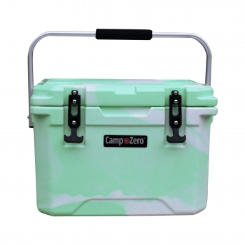 CAMP-ZERO 20 Premium Cooler | Green Swirl