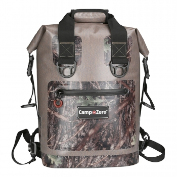 20 Can Backpack | Carry Cooler | Beige And Camo