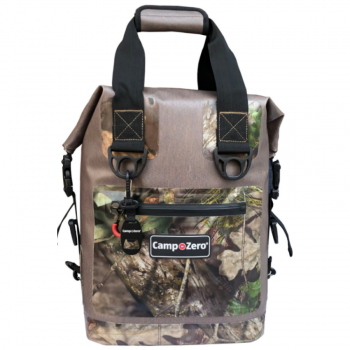 20 Can Backpack | Carry-All Cooler | Beige And Camo
