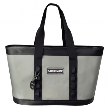 Camp-Zero CARRY-ALL Tote Bag | Grey And Black
