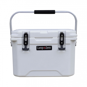 Camp-Zero 20 Premium Cooler | White
