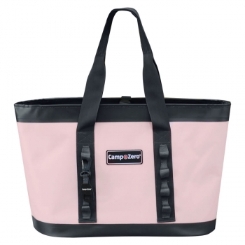 Camp-Zero CARRY-ALL Tote Bag | Pink And Grey
