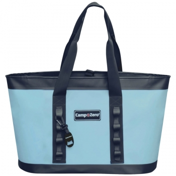 Camp-Zero CARRY-ALL Tote Bag | Blue And Grey