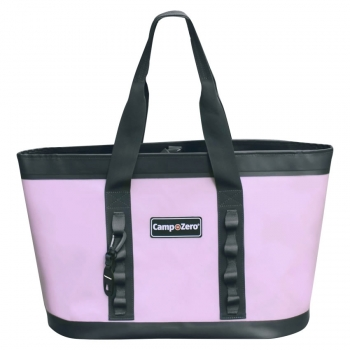 Camp-Zero CARRY-ALL Tote Bag | Lavender And Grey