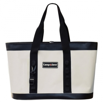 Camp-Zero CARRY-ALL Tote Bag | White And Black