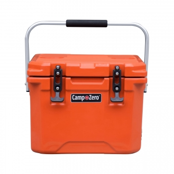 Camp-Zero 10 Premium Cooler | Bright Orange