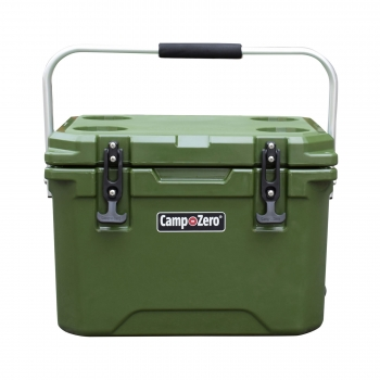 Camp-Zero 20 Premium Cooler | Army Green