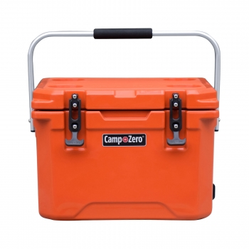 Camp-Zero 20 Premium Cooler | Bright Orange