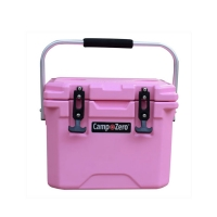 Camp-Zero 10 Premium Cooler in Pink