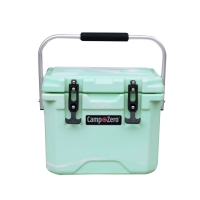 Camp-Zero 10 Premium Cooler in Green Swirl