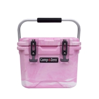 Camp-Zero 10 Premium Cooler in Pink Swirl