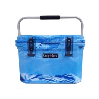 Camp-Zero 20 Premium Cooler in Blue Swirl
