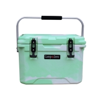 Camp-Zero 20 Premium Cooler in Green Swirl