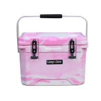 Camp-Zero 20 Premium Cooler in Pink Swirl