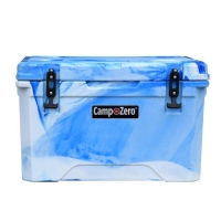 Camp-Zero 40 Premium Cooler in Blue Swirl