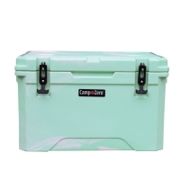 Camp-Zero 40 Premium Cooler in Green Swirl
