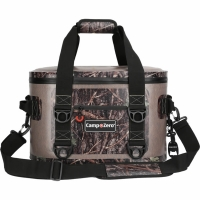 Camp-Zero 30 Can Soft Sided Premium Cooler - Beige/Camo