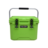 Camp-Zero 10 Premium Cooler | Bright Green